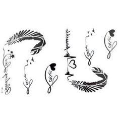 stay strong infinity feather dove tatoo idea   Tattoo ...