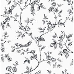 28 best floral print black white images on pinterest floral 012 floral print black white mightylinksfo