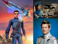 Scott Tracy the Pilot of Thunderbirds 1 through the years 2004 & Thunderbird 1, Thunderbirds Are Go, Nerd Herd, Lost In Space, Old Love, Life Purpose, Old Pictures, My Childhood, Science Fiction