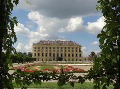 Château de Schönbrunn : View from the Crown Prince garden
