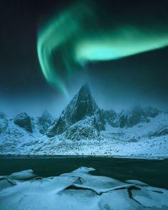 Just a regular night from Lofoten Islands. -