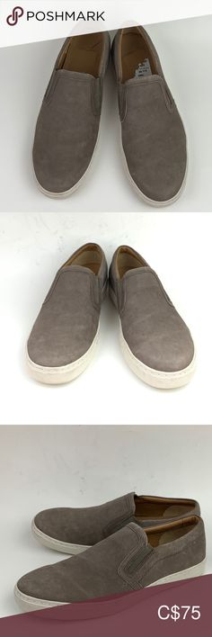 VINCE Blair 5 Slip-On Sneaker sz9 prelove some dirt on the side bumper a spot on the left side  Timeless aesthetics meet modern sophistication in Vince's collections of iconic, wearable essentials—always focusing on distinctive design, enduring style and uncompromising quality.  Elastic insets for a snug fit Calfskin upper/leather lining/rubber sole  159 Vince Shoes Sneakers Plus Fashion, Fashion Tips, Fashion Trends, Snug Fit, Shoes Sneakers, Aesthetics, Essentials, Collections, Slip On