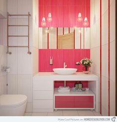 Beautiful Pink Bathroom Ideas Part 2 - Light Pink Bathroom ...