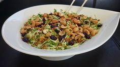 Saras madunivers: Lækker spidskålsalat med fennikel, urter,tranebær ...