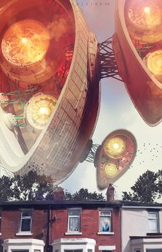 noisy neighbours by col price | Sci-Fi | 2D | CGSociety