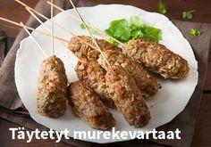 Täytetyt murekevartaat Resepti: Valio #kauppahalli24 #ruoka #resepti #murekevartaat