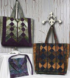Vive La Tote Bag Pattern by Whistlepig Creek by MomTheQuilter