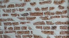 Close up of the Loft Style Faux Brick Wall panel Red & White. Looks even better in the flesh! Faux Brick Wall Panels, Brick Wall Paneling, Interior Styling, Interior Decorating, Interior Design, Spa Design, Brickwork, Loft Style, Interior And Exterior