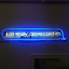 trendy ideas for neon lighting aesthetic grunge Blue Aesthetic Grunge, Blue Aesthetic Pastel, Aesthetic Colors, Sky Aesthetic, Neon Quotes, Sad Quotes, Blue Quotes, Fallout Boy, Alphabet Tag