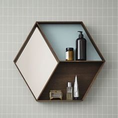 Ferm Living Spiegel Wall Wonder Oak