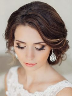 Dramatic hairstyles with intricate weaved designs are some of the most dazzling wedding styles for brides and they continue to reign as the top wedding updo hairstyles 2015. Description from stylebing.com. I searched for this on bing.com/images