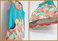 Louisa kleed met een aanpassing van het patroon.  Origineel patroon van Compagnie M.
