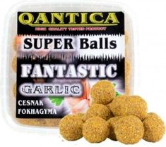 QANTICA Boilies 20mm / 500g Dog Food Recipes, Garlic