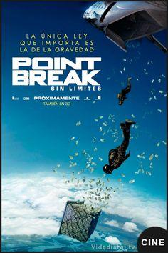 Ser uno de ellos para atraparlos Primer tráiler en español de Point Break Sin límites