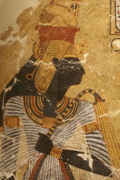 Reina Ahmose-Nefertari (. ca.1575 - 1505 aC) era la esposa y hermana del faraón Ahmose I y madre del faraón Amenhotep I. Se llamaba Gran Esposa Real y llevaba el título de Esposa del Dios Amón.  Sobrevivió a su esposo y gobernó durante el reinado de su hijo, a quien también sobrevivió probable.  Murió a la edad de 70 años, durante el reinado del faraón Tutmosis I. Después de su muerte fue venerada junto con Amenhotep I, como una deidad protectora de la necrópolis de Tebas, en