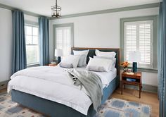 Traditional Harbor House Bedroom