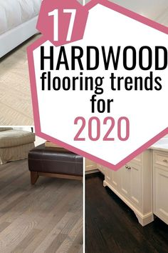 17 Hardwood flooring trends for Check out these stylish and trendy wood floor to redecorate your home. Grey Hardwood Floors, Engineered Hardwood, Dark Hardwood, Types Of Flooring, Diy Flooring, Flooring Ideas, Luxury Vinyl Flooring, Luxury Vinyl Plank, Floor Colors