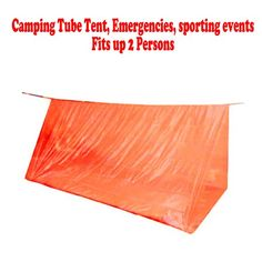 Cool! :)) Pin This & Follow Us! zCamping.com is your Camping Product Gallery ;) CLICK IMAGE TWICE for Pricing and Info :) SEE A LARGER SELECTION of 1-2 person camping tents at http://zcamping.com/category/camping-categories/camping-tents/1-to-2-person-tents/ - #hunting #campingtents #camping #campinggear - Lot of 3 Tube Tent Emergency Survival Camping Shelter 2 Persons Outdoor Hiking « zCamping.com