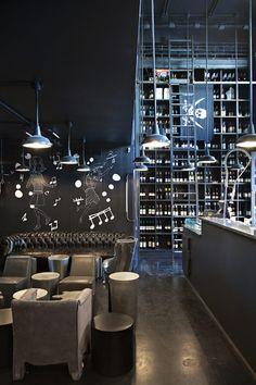 Tati-al-28 Restaurant, Rome, Italy designed by Alessandra Marino's Architecture Studio