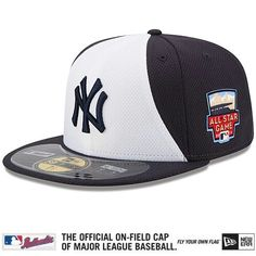 067698aca 2014 MLB ALL-STAR Game Official On-Field NEW YORK YANKEES Cap w