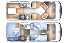 Camper Van Interiors | Chevrolet 3500 Minivan Camper Interior Layout Photo 1