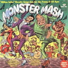 children's 70's monster mash album | Monster Mash Variations