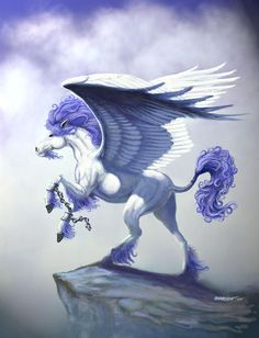 Pegasus Unchained by Stanley Morrison