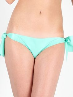 knickers: mint green latex, adjustable on the side with two ties. The brand Damaris has made it for you. Mint Green, Off White, Latex, Clothes, Fashion, Outfits, Moda, Clothing, Fashion Styles