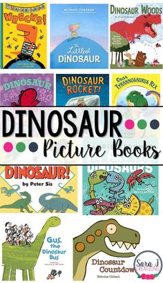 10 Dinosaur books your kids will love. Have you read these picture books? Dinosaurs Preschool, Dinosaur Activities, Preschool Books, Preschool Activities, Dinosaur Dinosaur, Dinosaur Gifts, Preschool Pictures, Teaching Kindergarten, Teaching Resources