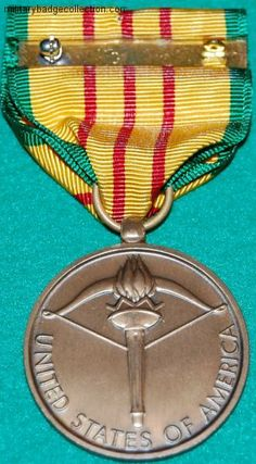 military medals photo gallery | Vietnam Service Medal
