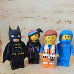 Lego movie fondant cake toppers by DsCustomToppers on Etsy