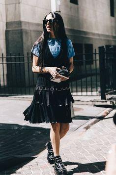 New York Fashion Week Street Style #3 | Collage Vintage | Bloglovin'
