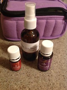 Young living essential oils. Head lice repellant, prevention. 2oz. Bottle 3 drops lavender, 3 drops tea tree oil, fill with water (distiller is best). Shake before use. Member # 2269631