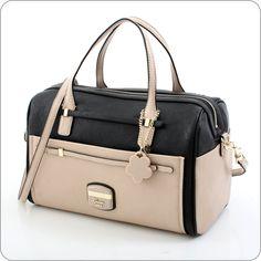 GUESS ONLINESHOP : Handtasche Guess Huma - Box Satchel Black Multi