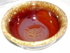 Hull Pottery, Bicentennial, 1976. Unmarketed, interior bowl design. RARE.