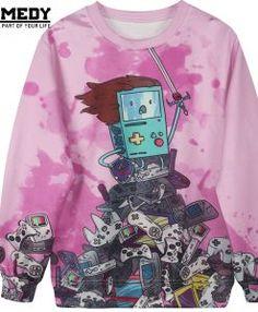 Women-Men-Harajuku-Sweatshirt-Digimon-Adventure-Time-3D-Cartoon-Pikachu-Printed-Kawaii-Hoodies-Autumn-Funny-Ladies