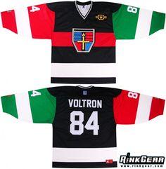 Voltron Hockey Jersey #rinkgear
