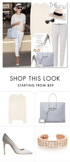 """""""return to the city with style"""" by gifra ❤ liked on Polyvore featuring Étoile Isabel Marant, Marella, Balenciaga, Manolo Blahnik, Tom Ford, Anita Ko and Maison Michel"""