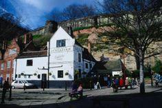 Ye olde trip to Jerusalem, England    England's oldest pub 'Ye olde trip to Jerusalem' - Nottingham, England