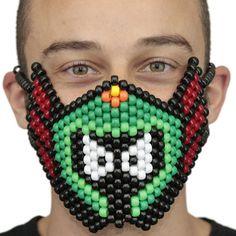 Marvin The Martian Kandi Rave Mask