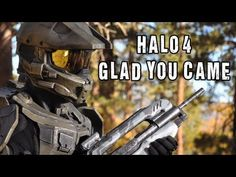 It's stuck in my head! HALO 4 - Glad You Came (The Wanted Parody)