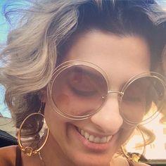Linda nossa cliente com seu exclusivíssimo Chloé Carlina! #clientewanny #chloe #carlina #compreoseu #vemprawanny #online #oticaswanny
