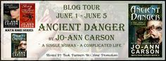 Book Partners In Crime Promotions: 6/1 - 6/5: Blog Tour - Ancient Danger by Jo-Ann Carson