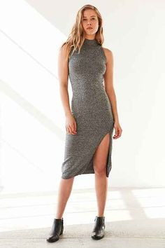 MINKPINK Temptation Sleeveless Mock-Neck Dress - Urban Outfitters