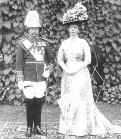 King George V and Queen Mary at Delhi, 1911