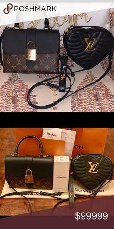 5155b02117f (SOLD)Louis Vuitton Locky BB   Heart New Wave Bag! Both bags brand. Poshmark