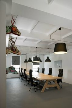 The new head office of Pride And Glory Interactive, Cracovia, Morpho Studio