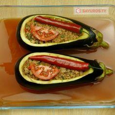 Vinete umplute în stil turcesc – o rețetă foarte gustoasă cu un gust deosebit! - savuros.info Eggplant, Zucchini, Food And Drink, Pasta, Vegetables, Cooking, Orice, Fine Dining, Romanian Food
