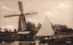 Stalham. Hunsett Windmill # STLM.56 by Tuck. | eBay