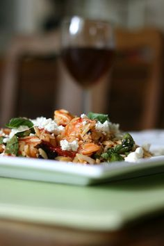 orzo with roasted shrimp and tomatoes orzo with shrimp and tomatoes ...